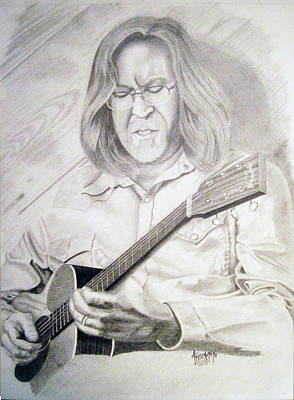 Eric Clapton Drawing - Eric Clapton by Aaron Freeman