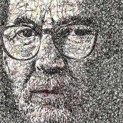 Eric Clapton Drawing - Eric Clapton by Brian Keating
