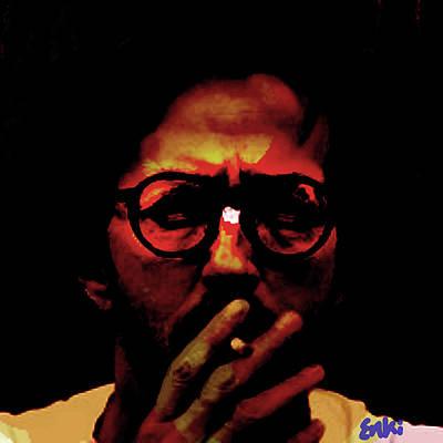 Def Leppard Mixed Media - Eric Clapton by Enki Art
