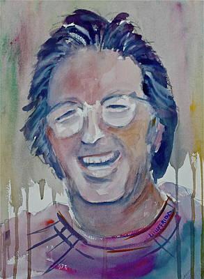 Eric Clapton Portrait Painting - Eric Clapton by Joseph Giuffrida