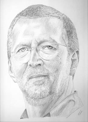 Eric Clapton Drawing - Eric Clapton by Keith Miller
