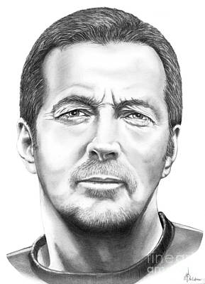Eric Clapton Drawing - Eric Clapton by Murphy Elliott