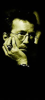 Clapton Digital Art - Eric Clapton by Plamen Petkov
