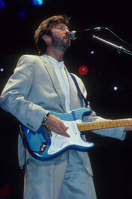 Eric Clapton Art Print by Rich Fuscia