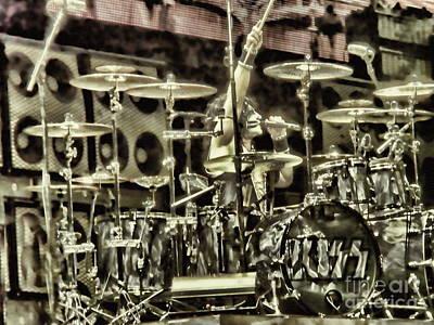 Photograph - Eric Singer by Vivian Martin
