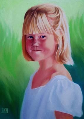 Painting - Erica by David Rodman Johnson