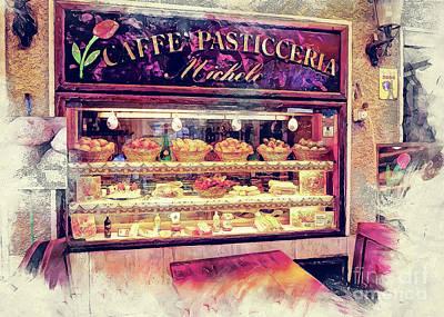 Sicily Painting - Erice Art 10 Sicili by Justyna JBJart