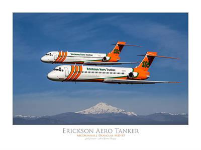 Erickson Aero Tanker Art Print