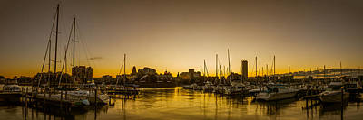 Photograph - Erie Basin Marina Twilight by Chris Bordeleau