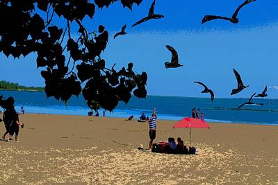Photograph - Erie Beach Scene-2 by Anand Swaroop Manchiraju