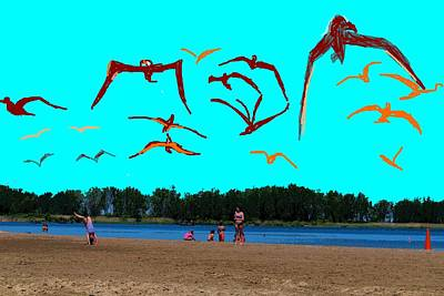 Photograph - Erie Beach Scene-3 by Anand Swaroop Manchiraju