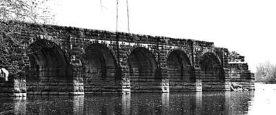 Aqueduct Digital Art - Erie Canal Aqueduct  by Justyn Ripley