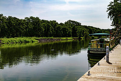 Photograph - Erie Canal Rest Stop by William Norton
