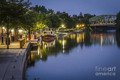 Erie Canal Shoreline Art Print