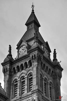 Photograph - Erie County And City Hall by Michael Frank Jr