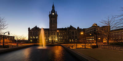 Photograph - Erie County Hall by Chris Bordeleau