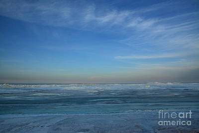 Photograph - Erie Ice by Charles Owens
