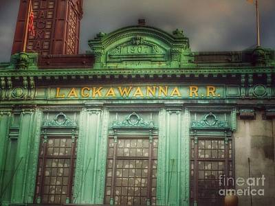 Photograph - Erie Lackawanna Railroad Line - Hoboken by Miriam Danar