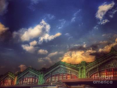 Photograph - Erie Lackawanna Railroad - Old Architecture 2 - Hoboken by Miriam Danar