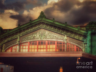 Photograph - Erie Lackawanna Railroad - Old Architecture - Hoboken by Miriam Danar