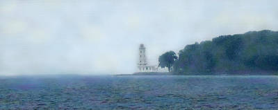 Photograph - Erie Light House by Ian  MacDonald