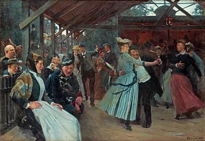 Erik Henningsen, The Dance Pavillion Art Print