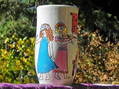 Ceramic Art - Erin's Song by Lisa Dunn