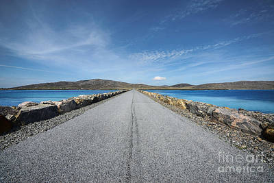 Scottish Photograph - Eriskay To South Uist by Nichola Denny