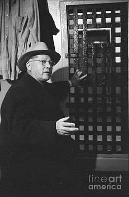 Eastern State Prison Wall Art - Photograph - Erle Stanley Gardner by The Harrington Collection