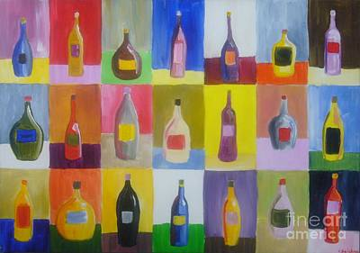 Colourfull Painting - Ermmm Which One by Charleston  Scicluna