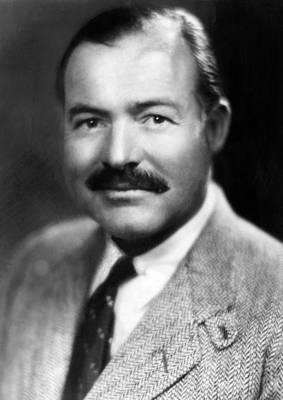 Ernest Hemingway, Ca. 1940 Art Print by Everett