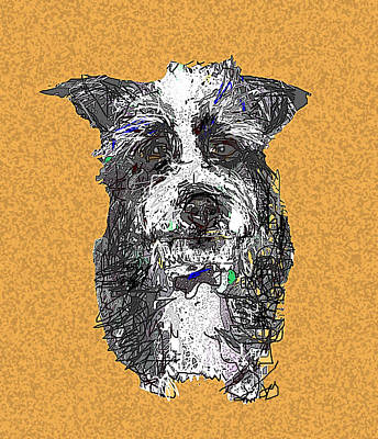 Digital Art - Ernest by Joyce Goldin