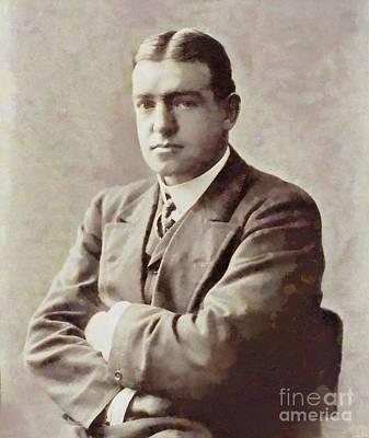 Ernest Shackleton, Explorer By Sarah Kirk Art Print