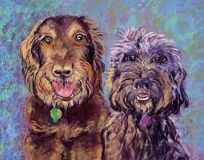 Painting - Ernie And June by Julie Maas