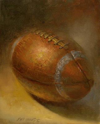 Ernie Davis Tribute Football  Original by Hall Groat II