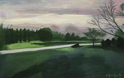 Painting - Ernie Lane 2017 by Ron Richard Baviello