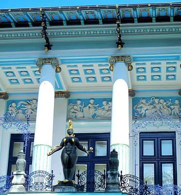 Photograph - Ernst Fuchs Vienna Villa by Ian  MacDonald