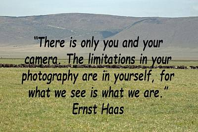 Photograph - Ernst Haas by Tony Murtagh