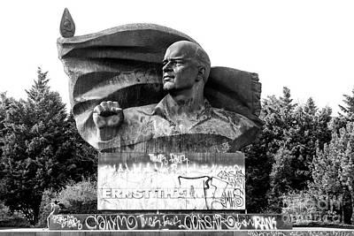 Prenzlauer Berg Photograph - Ernst Thalmann Monument by John Rizzuto