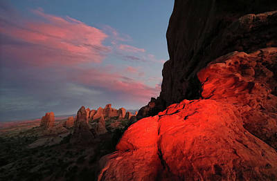 Arches National Park Photograph - Erocktic by Jerry LoFaro