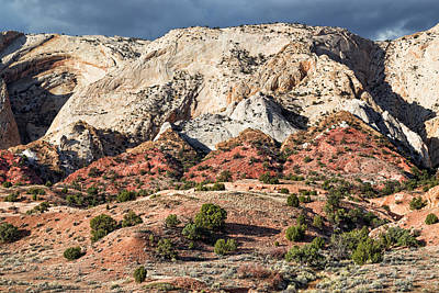Photograph - Eroded Monocline by Kathleen Bishop