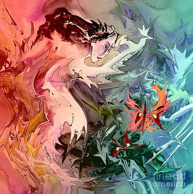 Painting - Eroscape 08 1 by Miki De Goodaboom