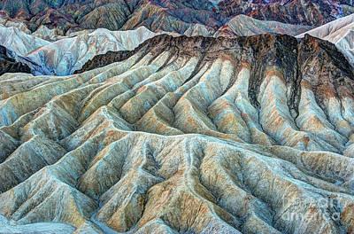 Amargosa Photograph - Erosional Landscape by Charles Dobbs