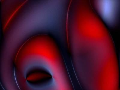Nude Digital Art - Erotic Art by Steve K