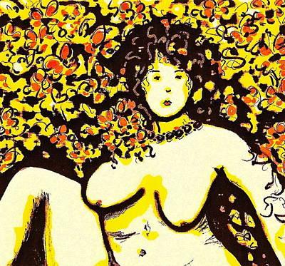 Erotic Desire Art Print by Natalie Holland