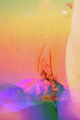 Digital Art - Erotic Dreams - Tantric Portal by Serge Averbukh
