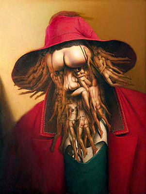 Painting - Erotic Man by Andre Martins de Barros
