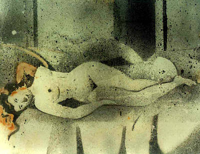Painting - Erotic Mood by Anand Swaroop Manchiraju
