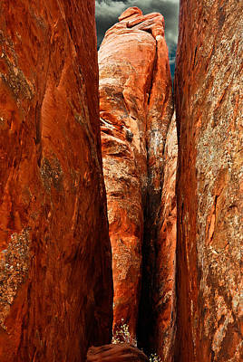 Photograph - Erotic Rock by Harry Spitz