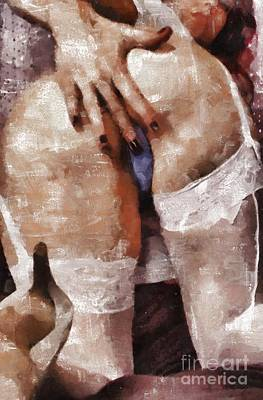 Erotica Painting - Erotica Is Back By Mary Bassett by Mary Bassett